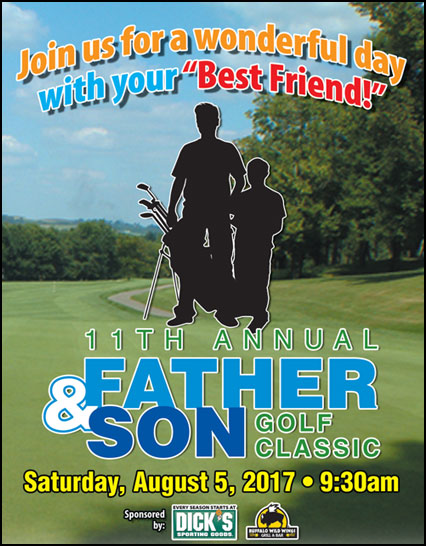 father & son golf outing